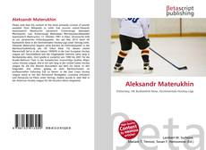 Bookcover of Aleksandr Materukhin
