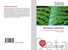 Bookcover of Dicksonia antarctica