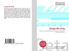 Bookcover of Songs We Sing