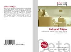 Bookcover of Aleksandr Mişon