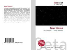 Bookcover of Tony Conran