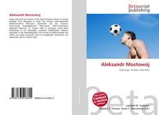 Bookcover of Aleksandr Mostowoj