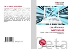 Bookcover of List of Inferno Applications