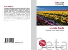 Buchcover von Justicia Rigida