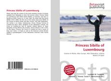 Bookcover of Princess Sibilla of Luxembourg