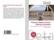 Princess Sibylla of Saxe-Coburg and Gotha的封面