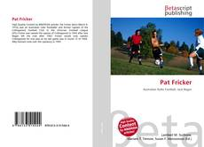 Bookcover of Pat Fricker