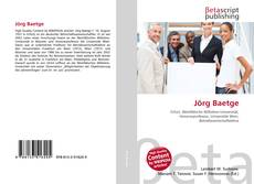 Buchcover von Jörg Baetge