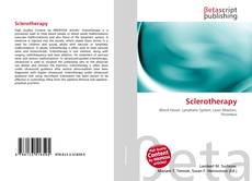 Bookcover of Sclerotherapy
