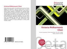 Portada del libro de Victoria Philharmonic Choir