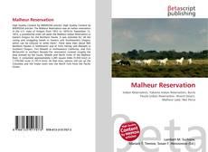 Bookcover of Malheur Reservation