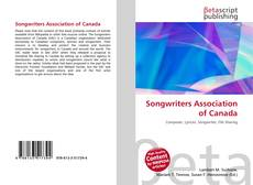 Bookcover of Songwriters Association of Canada