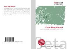 Bookcover of Sium bracteatum