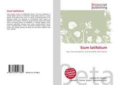 Bookcover of Sium latifolium