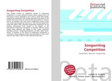 Bookcover of Songwriting Competition