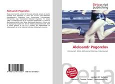 Buchcover von Aleksandr Pogorelov