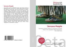 Portada del libro de Serrano People