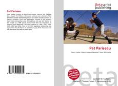 Bookcover of Pat Pariseau