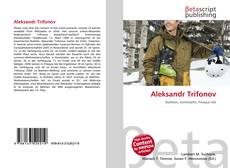 Bookcover of Aleksandr Trifonov
