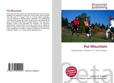 Bookcover of Pat Mountain