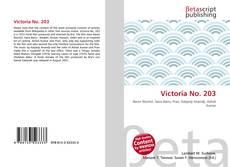 Portada del libro de Victoria No. 203