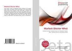 Copertina di Warlock (Doctor Who)