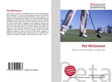 Bookcover of Pat McGowan