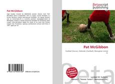 Bookcover of Pat McGibbon