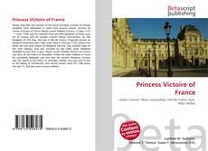 Couverture de Princess Victoire of France