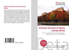Bookcover of Princess Victoria of Hesse and by Rhine