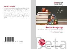 Portada del libro de Iberian Language