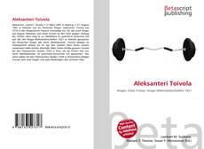 Buchcover von Aleksanteri Toivola