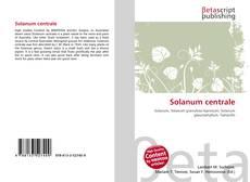 Bookcover of Solanum centrale