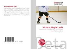 Обложка Victoria Maple Leafs