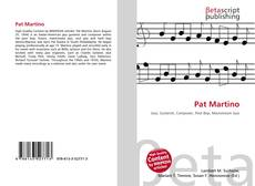 Bookcover of Pat Martino