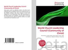 Bookcover of World Church Leadership Council (Community of Christ)