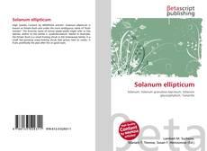 Buchcover von Solanum ellipticum
