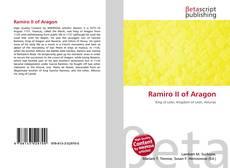 Ramiro II of Aragon kitap kapağı