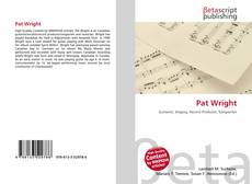 Bookcover of Pat Wright