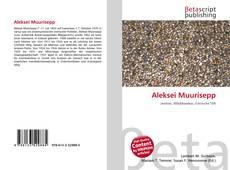 Portada del libro de Aleksei Muurisepp