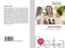 Bookcover of Aleksei Rebko