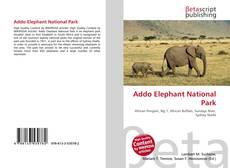Bookcover of Addo Elephant National Park