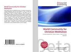 Buchcover von World Community for Christian Meditation