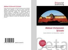 Capa do livro de Aleksei Victorovici Şciusev