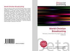Buchcover von World Christian Broadcasting