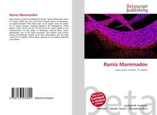 Bookcover of Ramiz Mammadov