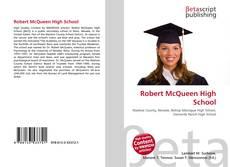 Capa do livro de Robert McQueen High School