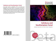 Bookcover of Salisbury and Southampton Canal