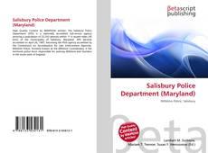 Salisbury Police Department (Maryland) kitap kapağı