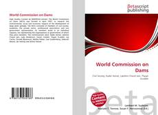Bookcover of World Commission on Dams